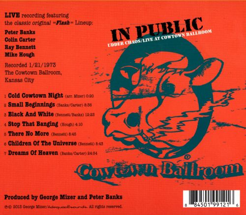 In Public: Udder Chaos - Live at Cowtown Ballroom