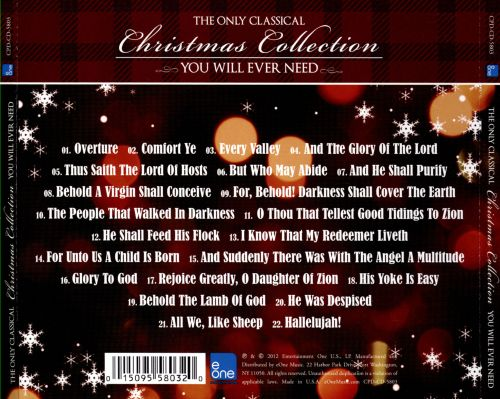 The Only Classical Christmas Collection You Will Ever Need [eOne]