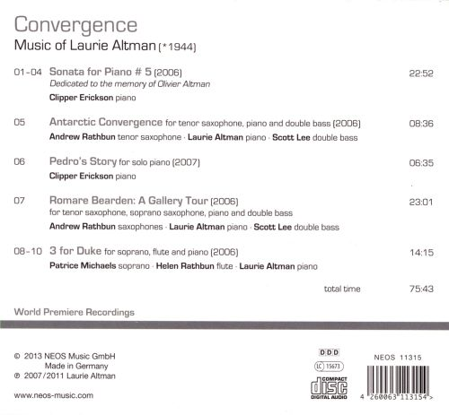 Convergence: Music of Laurie Altman