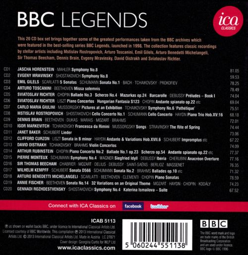 BBC Legends: Great Recordings from the Archive