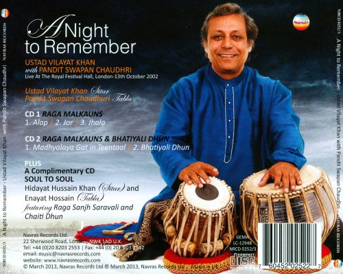 A Night to Remember: Live at the Royal Festival Hall, 2002