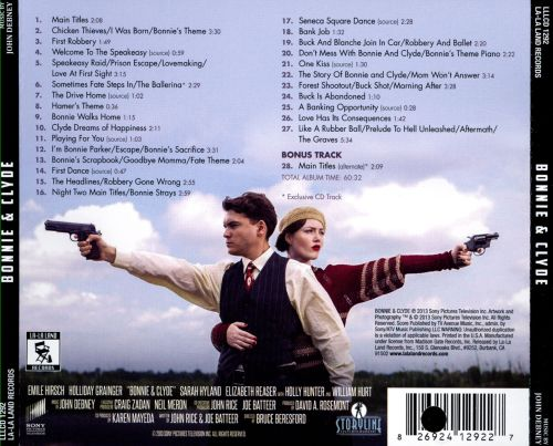 Bonnie and Clyde [Original Television Miniseries Soundtrack]