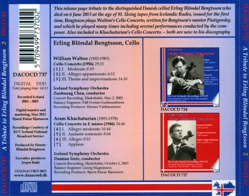 A Tribute to Erling Blondal Bengtsson, Vol. 2