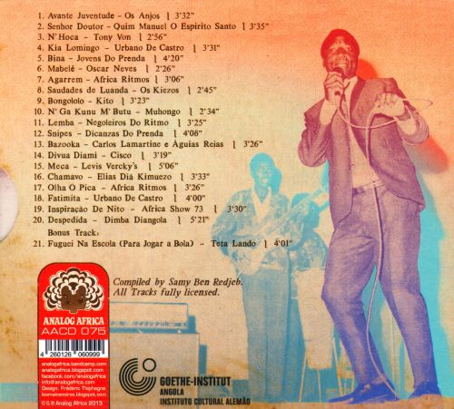 Angola Soundtrack, Vol. 2: Hypnosis, Distortions & Other Sonic Innovations 1969-1978