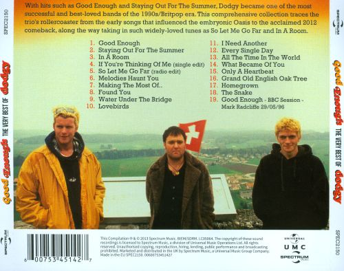 Good Enough: The Very Best of Dodgy