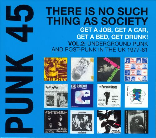 Punk 45, Vol. 2: Underground Punk and Post Punk in the UK, 1977-1981