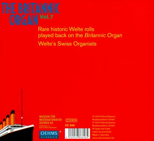 The Britannic Organ, Vol. 7