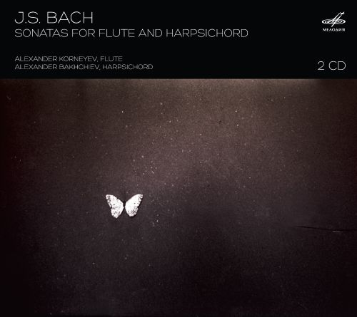 Bach: Sonatas for Flute and Harpsichord