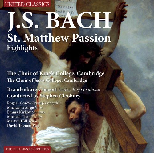 Bach: St. Matthew Passion [Highlights]