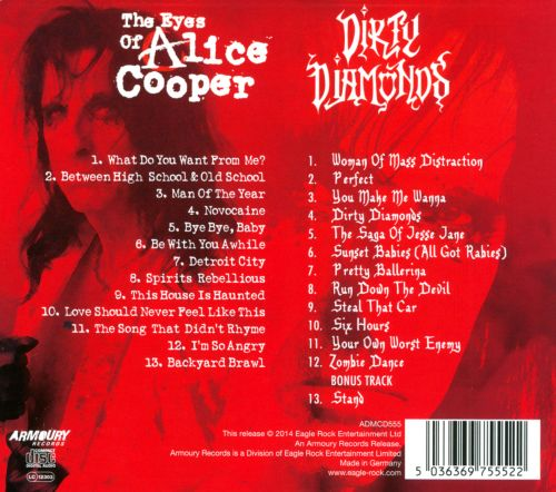 The Eyes of Alice Cooper/Dirty Diamonds