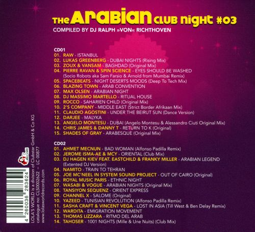 The Arabian Club Night, Vol. 3