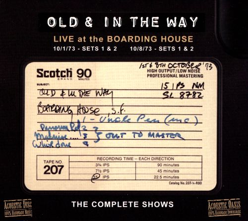 Live at the Boarding House: The Complete Shows