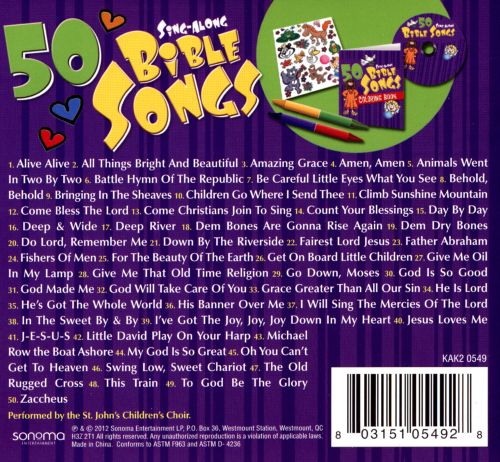 50 Sing-Along Bible Songs