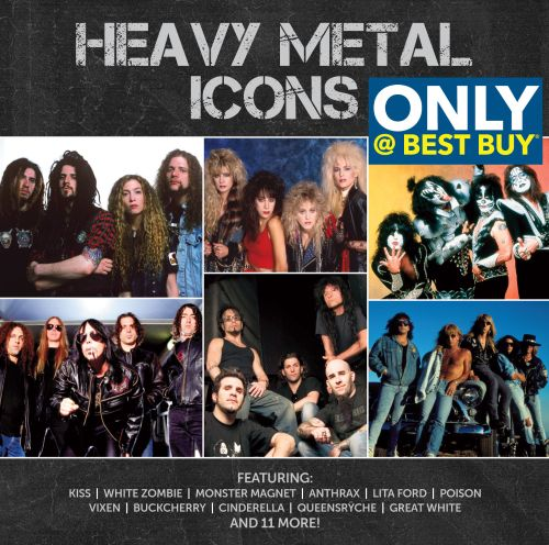 Heavy Metal Icons