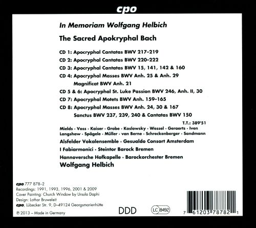 The Sacred Apocryphal Bach