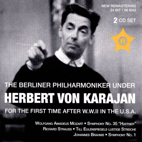 The Berliner Philharmoniker Under Herbert Von Karajan for the First Time After W.W.II In the U.S.A.