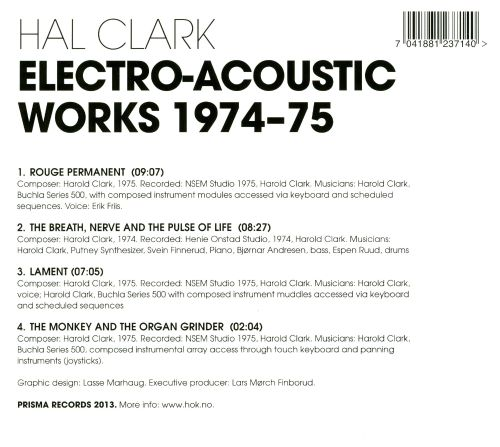 Electro-Acoustic Works 1974-75