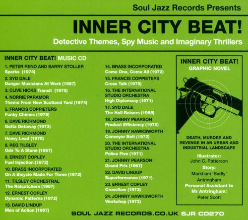 Inner City Beat!: Detective Themes, Spy Music and Imaginary Thrillers
