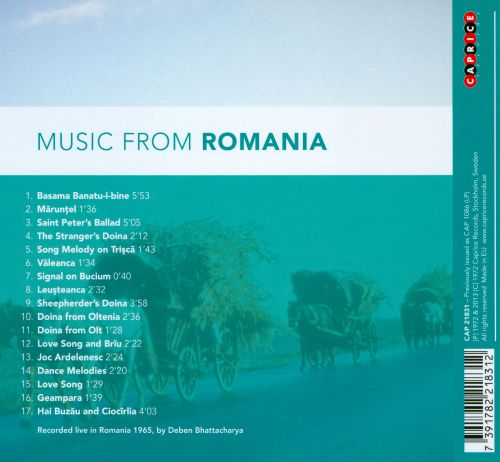 Music from Romania [Caprice]