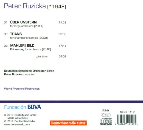 Peter Ruzicka: Orchestra Works, Vol. 2