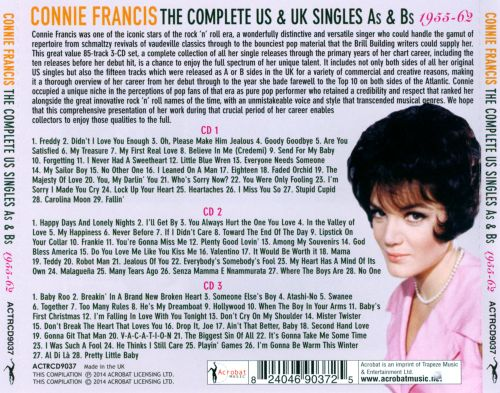 The Complete US Singles As & Bs: 1955-62