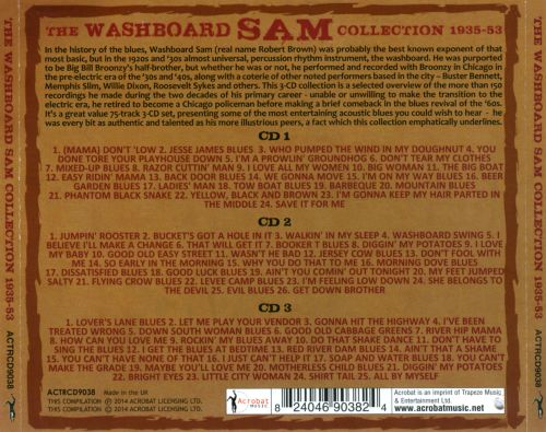 The Washboard Sam Collection: 1935-1953