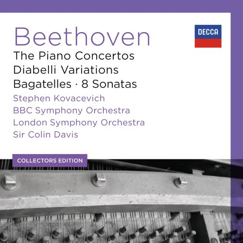 Beethoven: The Piano Concertos; Diabelli Variations; Bagatelles; 8 Sonatas