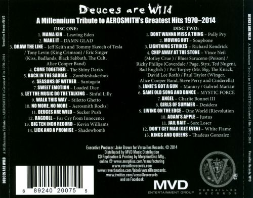 Deuces Are Wild: A Millennium Tribute To Aerosmith's Greatest Hits 1970-2013