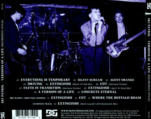 Versions of A Life (Recordings 1979-81)