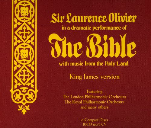 The  Bible: With Music From the Holy Land  (King James Version)