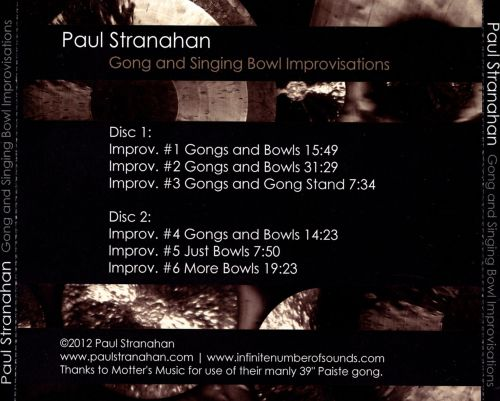 Gong and Singing Bowl Improvisations