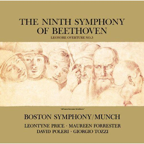 The Ninth Symphony of Beethoven; Leonore Overutre No. 3