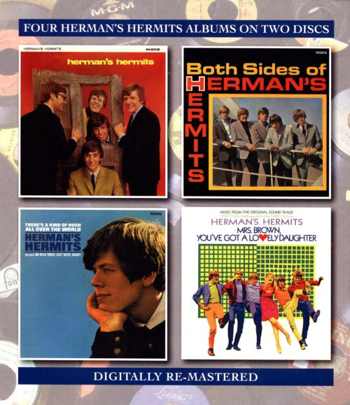 Herman's Hermits/Both Sides Of.../There's a Kind of Hush All Over the World/Mrs. Brown You've Got a Lovely Daughter