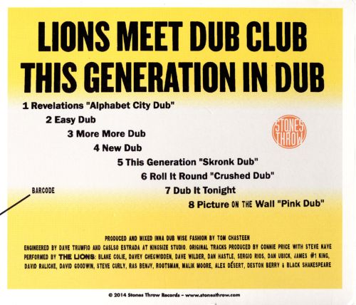 This Generation in Dub