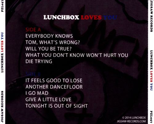 Lunchbox Loves You