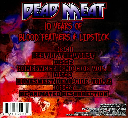 Dead Meat: 10 Years of Blood, Feathers & Lipstick