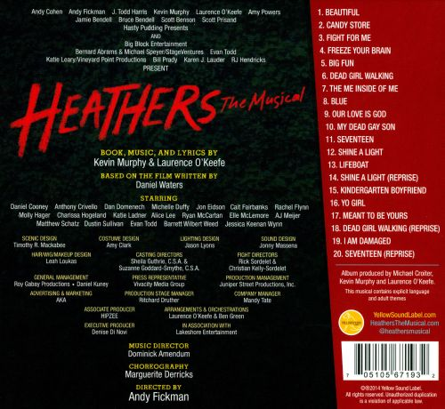 Heathers The Musical Soundtrack