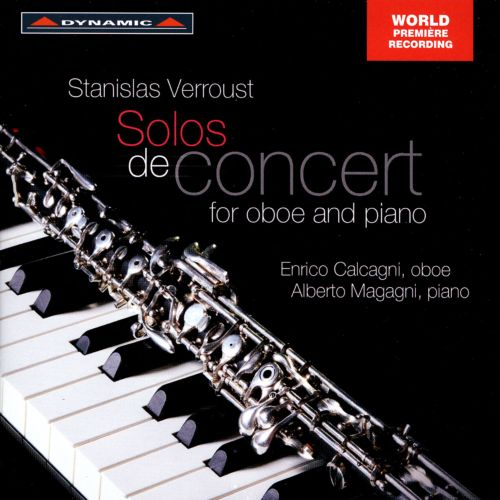 Stanislas Verroust: Solos de Concert for Oboe and Piano