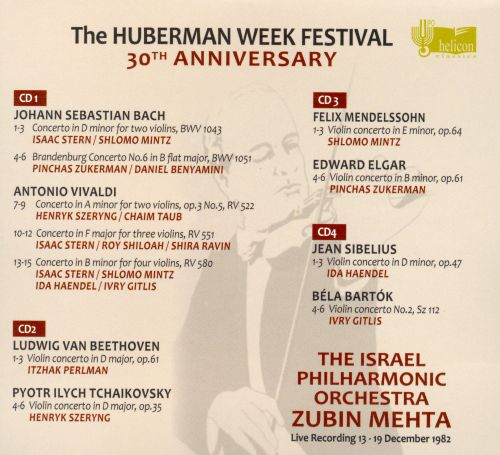 The Hubermann Week Festival, 30th Anniversary