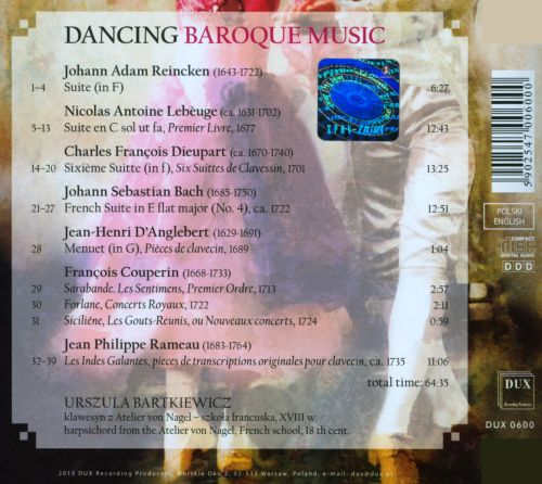Dancing Baroque Music