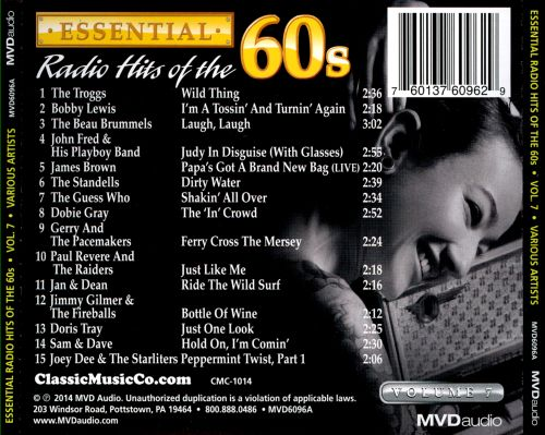 Essential Radio Hits of the 60s, Vol. 7