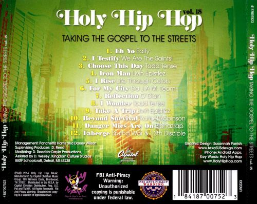 Holy Hip Hop, Vol. 18: Taking Gospel To The Streets