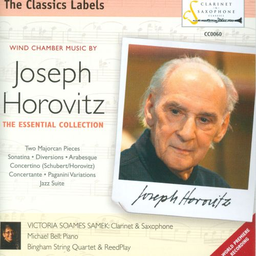 Wind Chamber Music by Joseph Horovitz: The Essential Collection