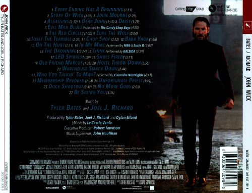 John Wick Original Motion Picture Soundtrack Tyler