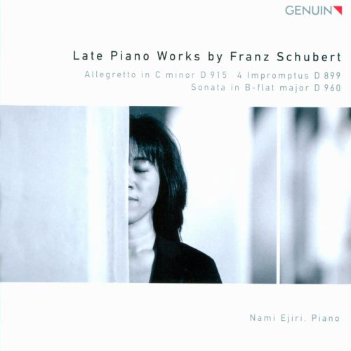 Late Piano Works by Franz Schubert