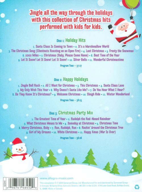 Kids' Christmas Party Mix: Performed With Kids For Kids