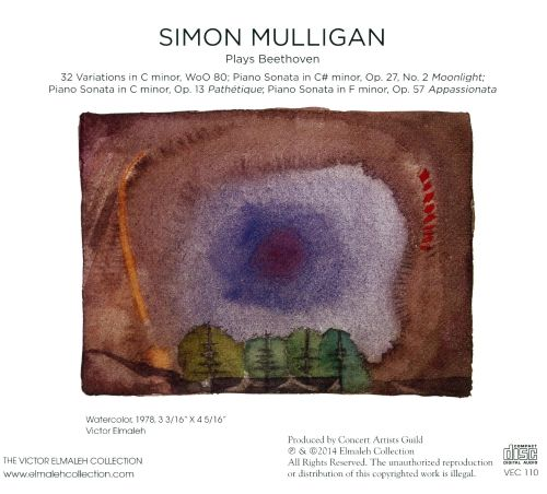 Simon Mulligan Plays Beethoven