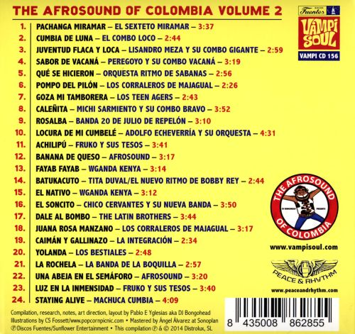 The Afrosound of Colombia, Vol. 2