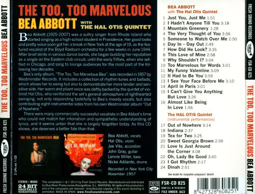 The Too, Too Marvelous