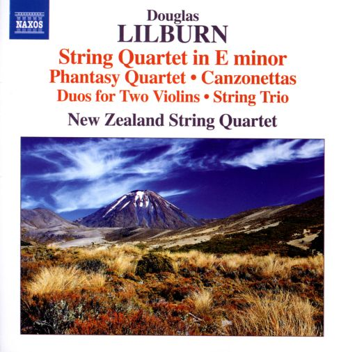 Douglas Lilburn: String Quartet in E minor